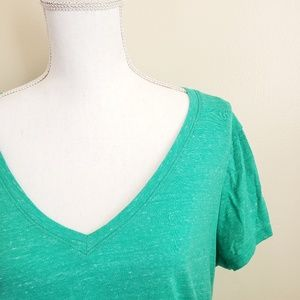 a:glow Maternity Short Sleeve V-Neck Tee